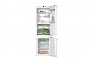 Zabudovateľná kombinovaná chladnička s mrazničkou KFN 37282 iD