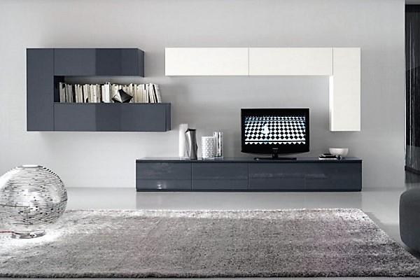 4aadb61cebb7b Moderná obývacia stena MONTANA , vysoký lesk, na mieru