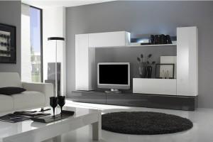 Moderná obývacia stena Indiana